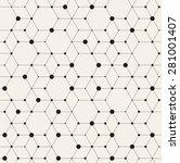 vector seamless pattern. modern ... | Shutterstock .eps vector #281001407