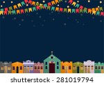 latin american holiday  the... | Shutterstock .eps vector #281019794