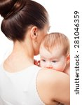 mother is holding baby | Shutterstock . vector #281046359
