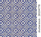 seamless tile pattern of... | Shutterstock . vector #28104778