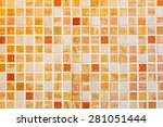 Mosaic Background With Water...