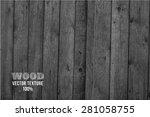 vector wood texture. background ... | Shutterstock .eps vector #281058755