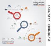 infographic design template... | Shutterstock .eps vector #281075939