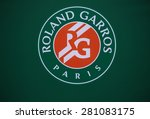 paris   may 24  2015  roland... | Shutterstock . vector #281083175