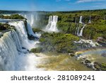 View Of Iguassu Falls From...