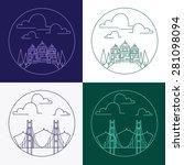 Vector  Tiny Line Logo Elements....
