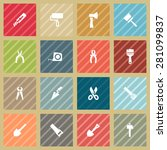 tool icons | Shutterstock .eps vector #281099837