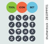 tool icons | Shutterstock .eps vector #281099951