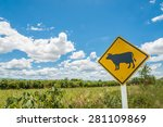 Road Works Sign For Farm ....