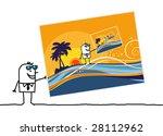 summer postcard | Shutterstock .eps vector #28112962
