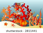 fish aquarium | Shutterstock . vector #2811441