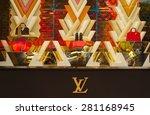 paris  france   may 24   louis... | Shutterstock . vector #281168945