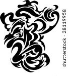 scalable abstract design   Shutterstock .eps vector #28119958