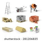 Set Of Construction Material....
