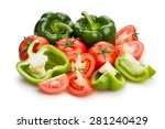 Green Bell Pepper And Tomato...
