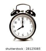 alarm clock | Shutterstock . vector #28125085
