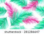 beautiful seamless vector... | Shutterstock .eps vector #281286647