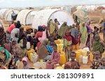 dadaab  somalia   august 06 ...   Shutterstock . vector #281309891