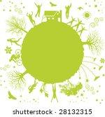 a funky vector illustration of...   Shutterstock .eps vector #28132315