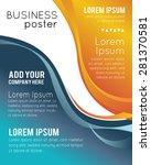professional business design... | Shutterstock .eps vector #281370581