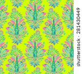 seamless paisley pattern....   Shutterstock . vector #281430449