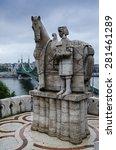 st. istvan kiraly statue in... | Shutterstock . vector #281461289