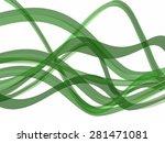 vector green wave   Shutterstock .eps vector #281471081
