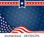 usa  united state of america... | Shutterstock . vector #281501291