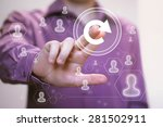 button update business online | Shutterstock . vector #281502911