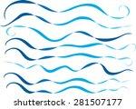vector lines | Shutterstock .eps vector #281507177