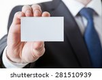 unrecognizable businessman... | Shutterstock . vector #281510939