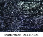 photo texture of black patent... | Shutterstock . vector #281514821