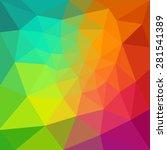vector pattern of geometric... | Shutterstock .eps vector #281541389