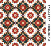 seamless pattern. colorful... | Shutterstock . vector #281544521