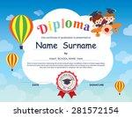preschool elementary school... | Shutterstock .eps vector #281572154