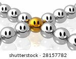 stand out from the crowd | Shutterstock . vector #28157782