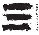 grunge banners | Shutterstock . vector #28158415
