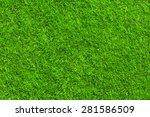 green grass texture | Shutterstock . vector #281586509