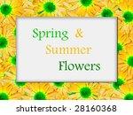 flower frame | Shutterstock . vector #28160368