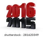 3d 2016... 2015 2016 change... | Shutterstock . vector #281620349