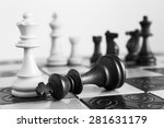 photographed on a chess board | Shutterstock . vector #281631179