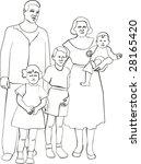 vector. family | Shutterstock .eps vector #28165420