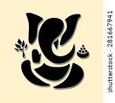 ganesha or ganesh .vector eps10 | Shutterstock .eps vector #281667941