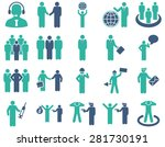 management and people... | Shutterstock .eps vector #281730191