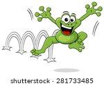 vector illustration of a... | Shutterstock .eps vector #281733485