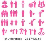 management and people... | Shutterstock . vector #281743169