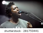 hradec kralove   july 2  singer ... | Shutterstock . vector #281753441