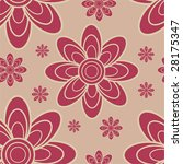retro seamless vector pattern | Shutterstock .eps vector #28175347