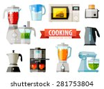 cooking icons. set of elements  ... | Shutterstock .eps vector #281753804
