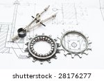 drawing and various details | Shutterstock . vector #28176277